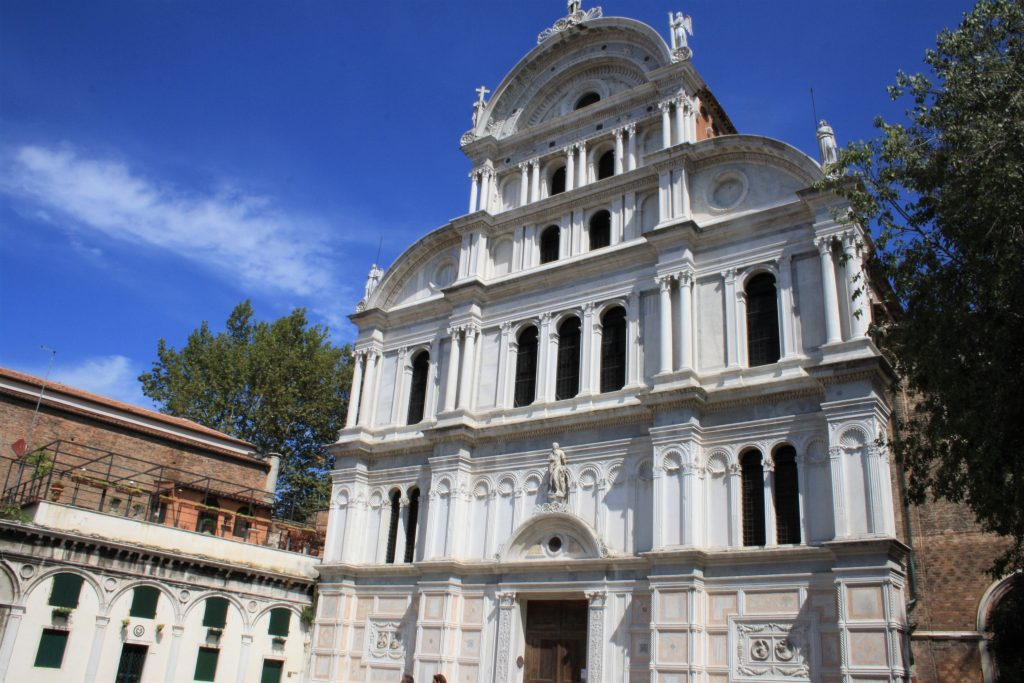 Une journée à Venise : Église San Zaccaria