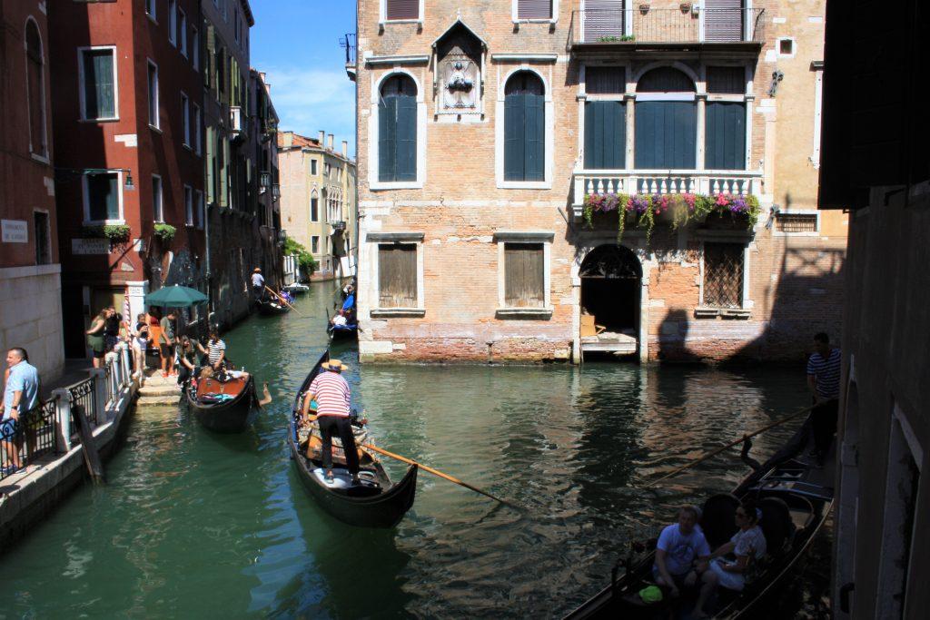 Une journée à Venise : Les gondoles